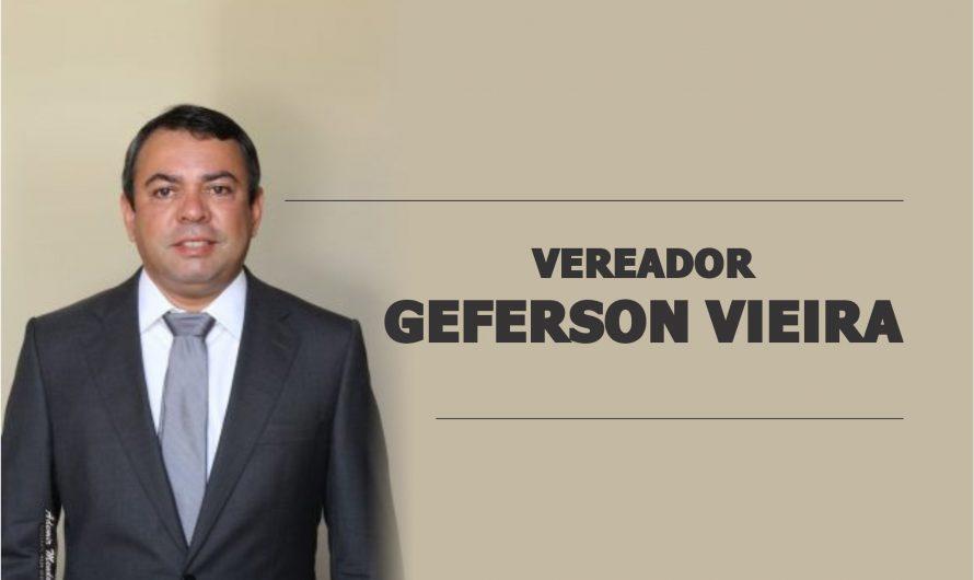 Vereador Geferson Vieira solicita Cascalhamento e patrolamento na Vila Agesul