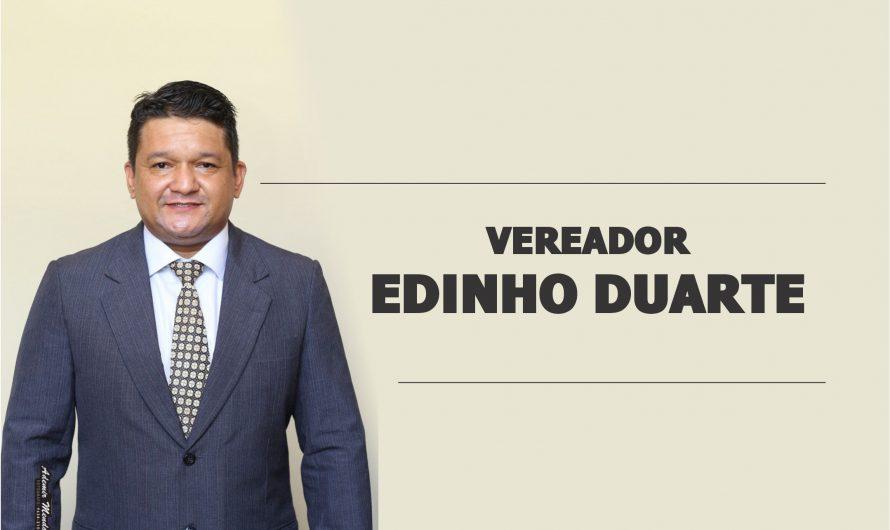 Vereador Edinho Duarte reivindica cascalhamento e patrolamento na Rua Alaíde Correa e melhorias no Bairro Primavera e Costa e Silva