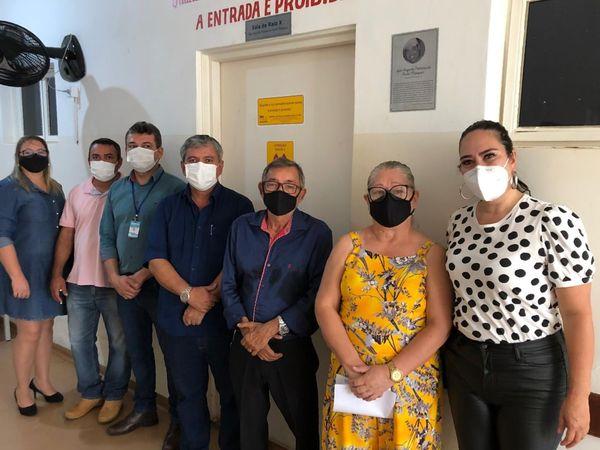 BELA VISTA: SALA DE RAIO-X DO HOSPITAL AGORA SE CHAMA 'LUIZ AUGUSTO PINHEIRO DA COSTA MARQUES'