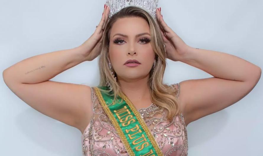 Bela-vistense, Mariane Balta Andrade é a nova Miss Universo Plus Size