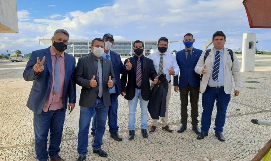 Vereadores de Bela Vista cumprem agenda positiva em Brasília