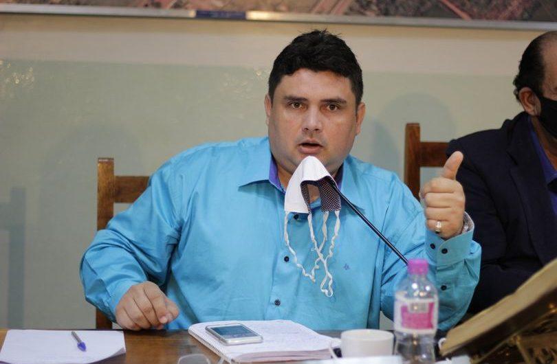 Johnys Basso solicita gradagem nas propriedades do assentamento Barra do Ita