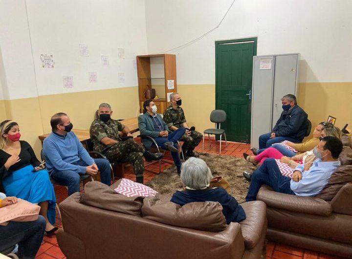 BELA VISTA: PREFEITURA REFORÇA PARCERIA COM 10º RC MEC