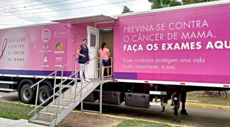 De forma totalmente gratuita, carreta do Hospital do Amor estará em Bela Vista realizando exames de preventivos e mamografias