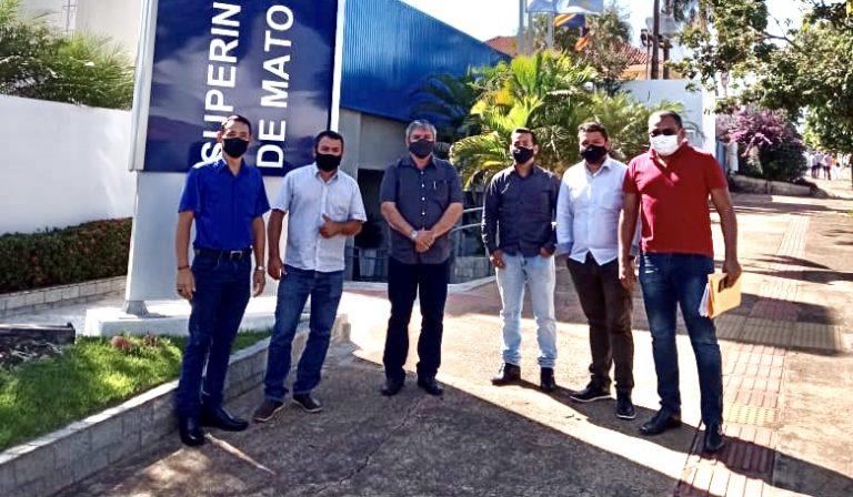 Com projeto de iluminação pública para Teodoro Sativa, vereadores acompanham prefeito em audiência no DNIT