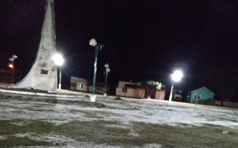 Bela Vista registra frio com sensação de -6ºC e forte geada em diversos bairros da cidade