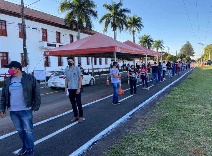 Prefeitura de Bela Vista realiza vacinação solidária