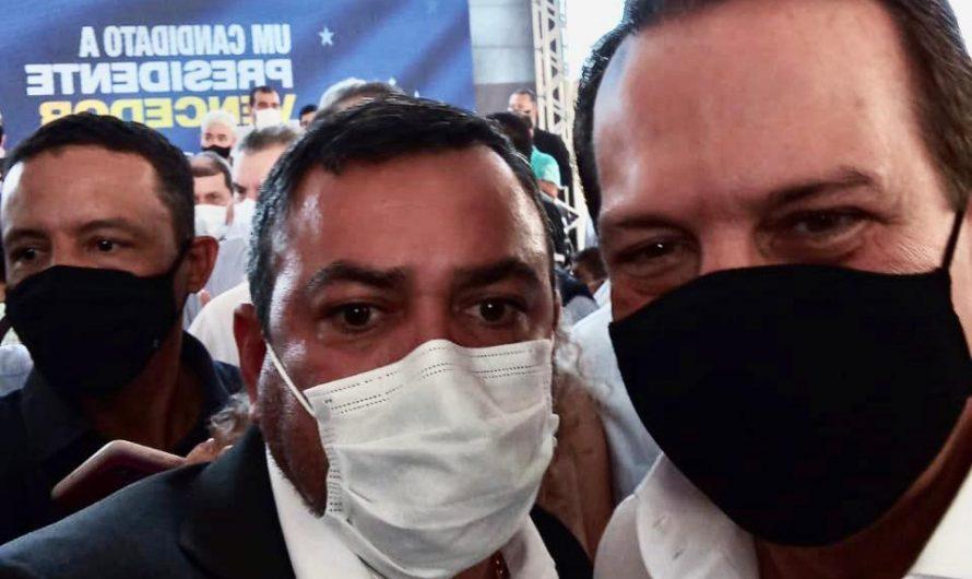 Durante encontro do PSDB, vereador Geferson elogia gestão de João Doria