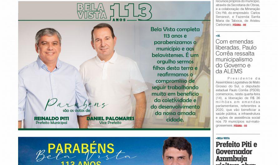 JORNAL TRIBUNA DA FRONTEIRA – EDIÇÃO N. 2.893