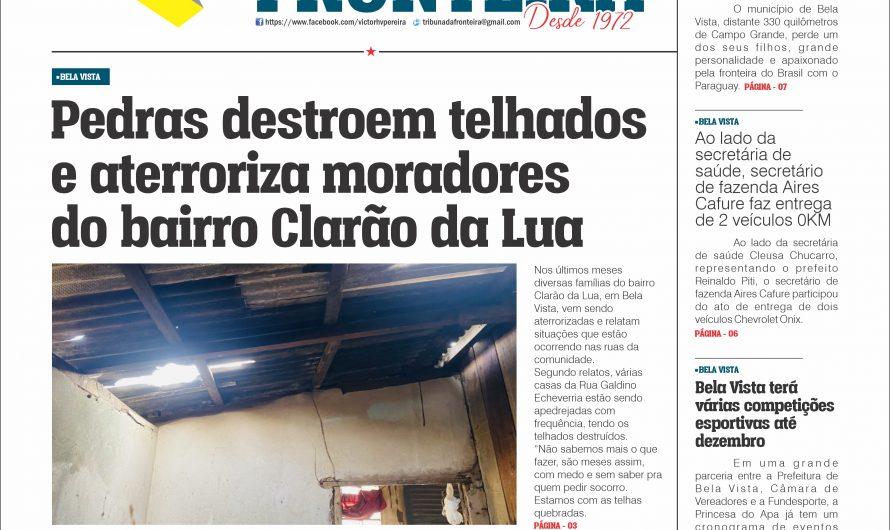 JORNAL TRIBUNA DA FRONTEIRA – EDIÇÃO N. 2896